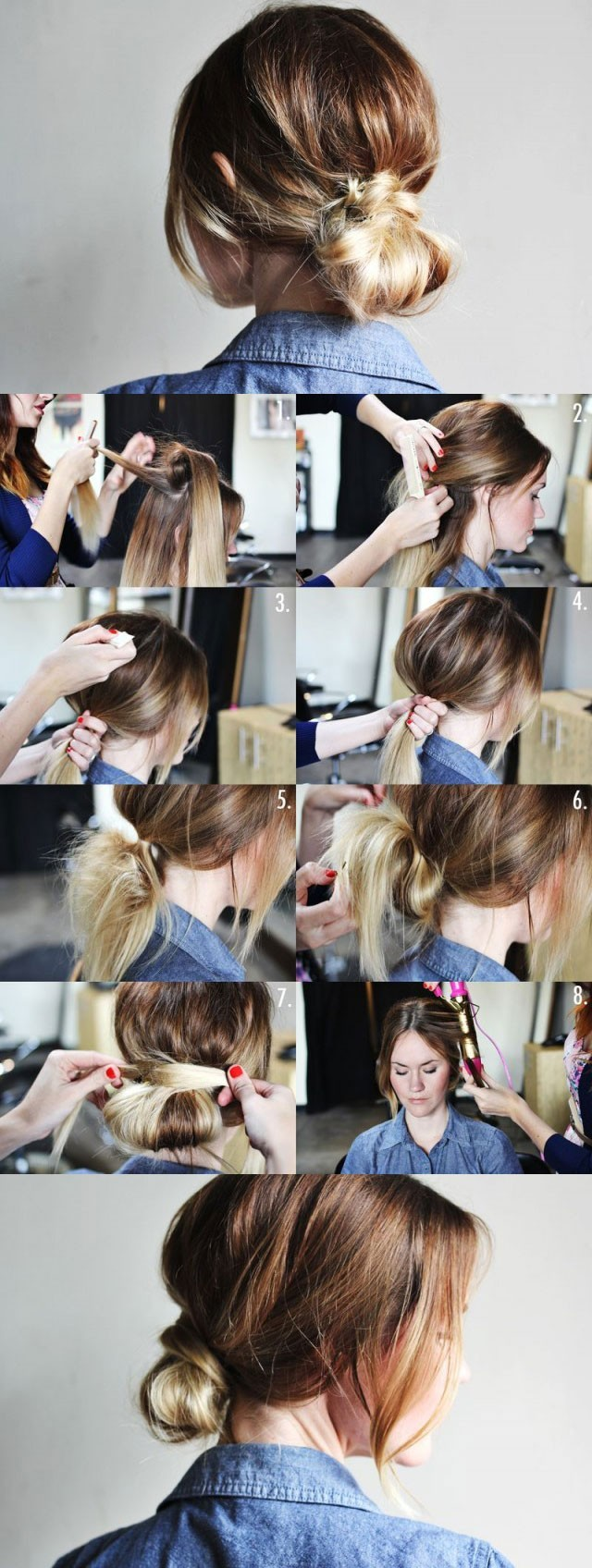 low-bun-updo-hairstyle-tutorial-easy-hairstyles-for-women
